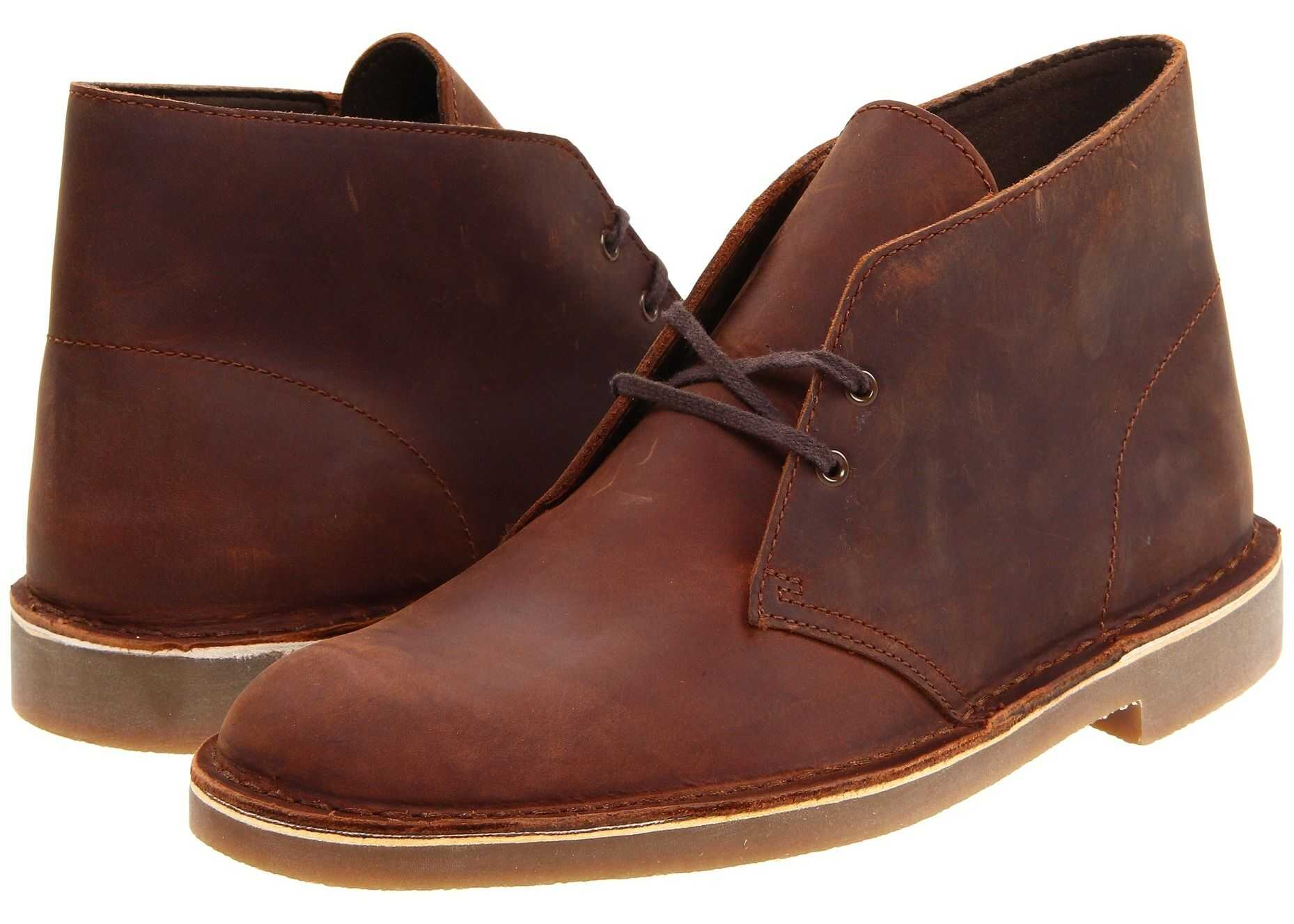 Clarks Bushacre 2 Brown Leather