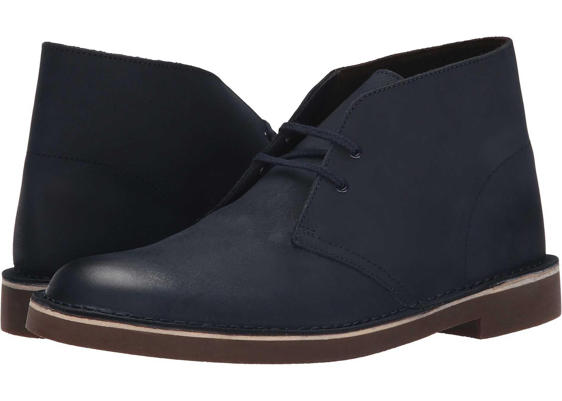 Clarks Bushacre 2 Navy Leather