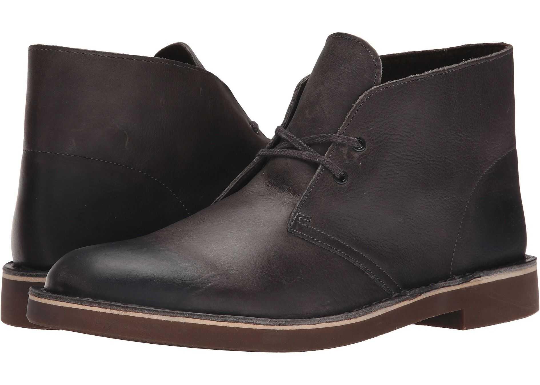 Clarks Bushacre 2 Grey Leather