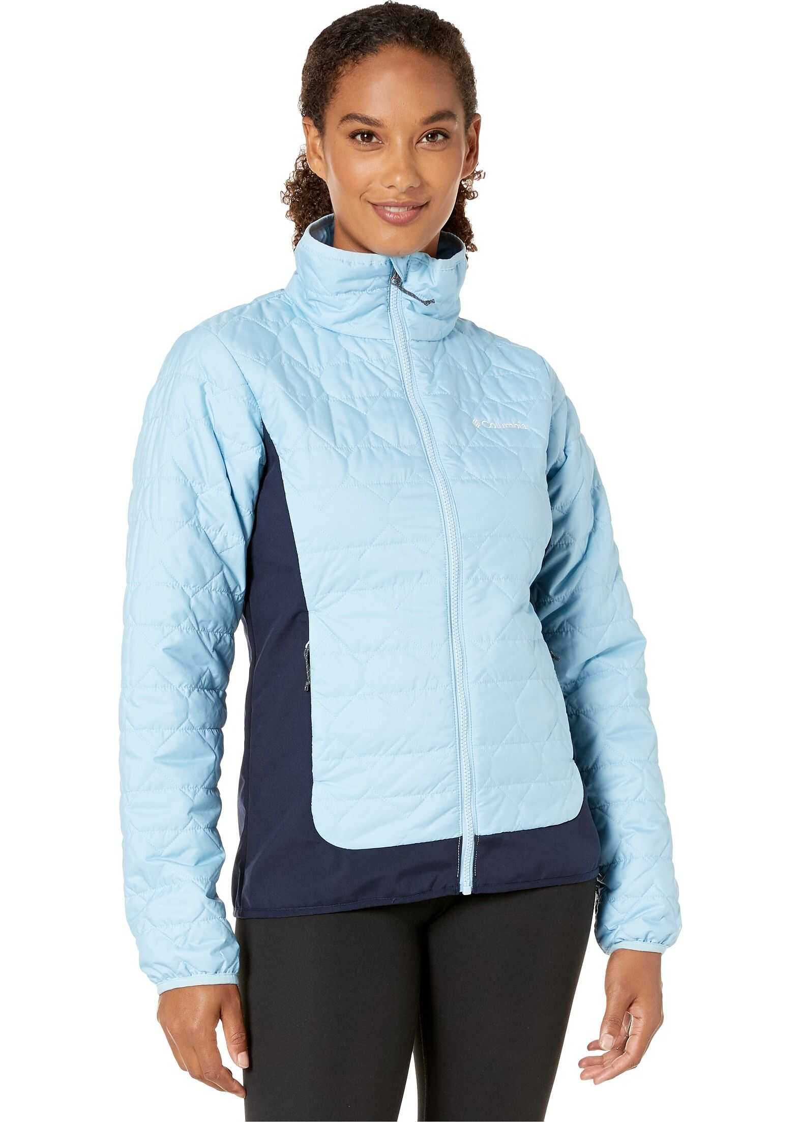 Columbia Seneca Basin™ Hybrid Jacket Crystal Blue/Dark Nocturnal