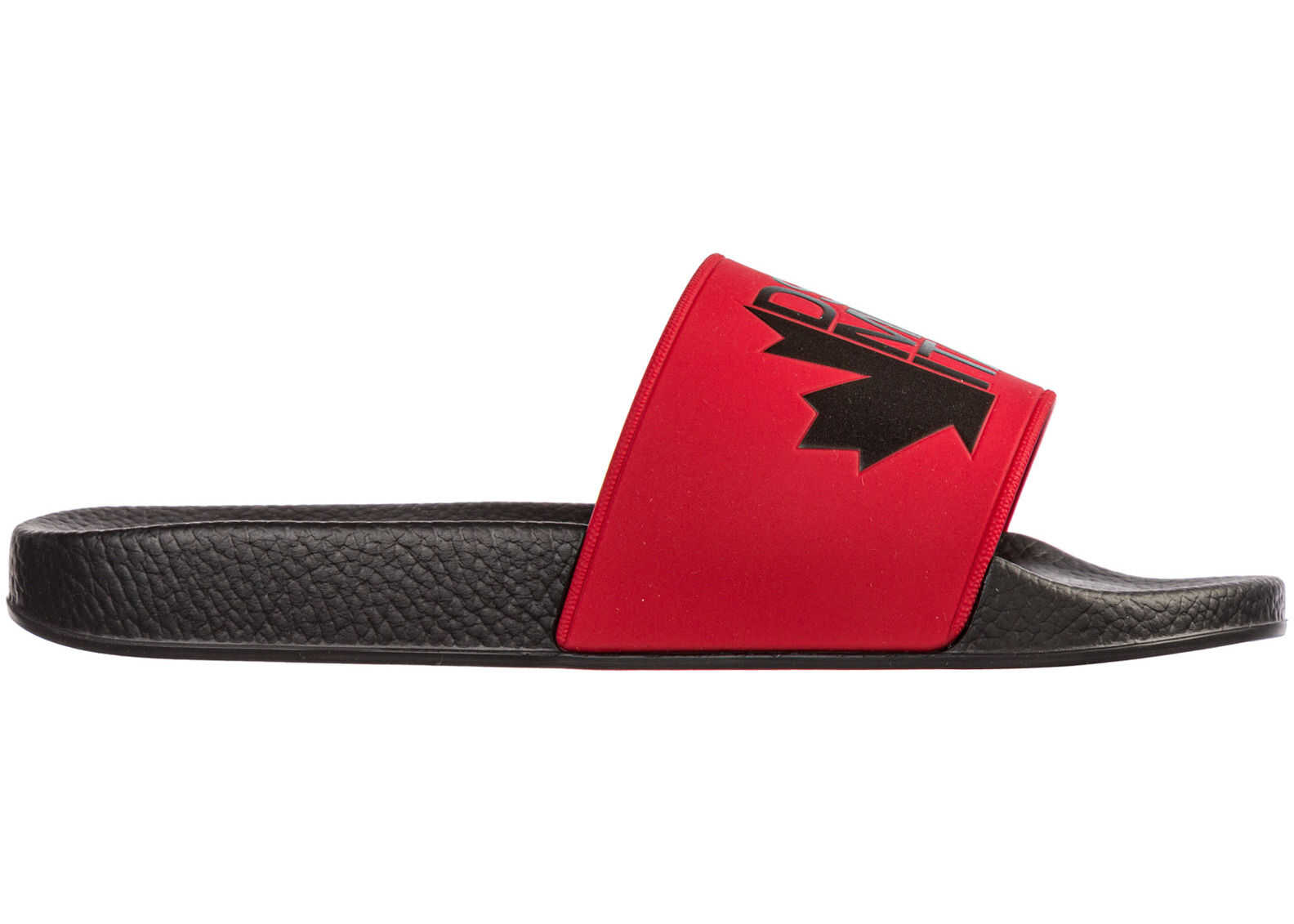 DSQUARED2 Sandals Rubber Red