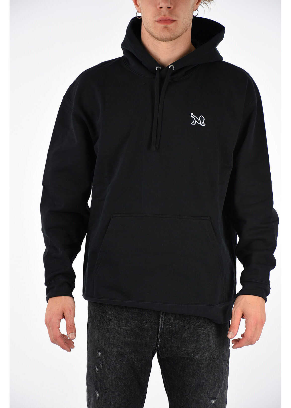 Calvin Klein JEANS EST.1978 Hoodie Sweatshirt BLACK