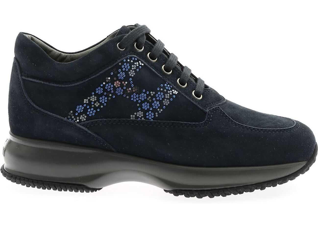 Hogan Interactive Blue Sneakers Blue