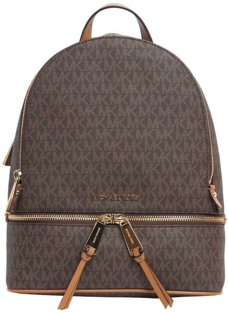 Michael Kors Leather Backpack BROWN