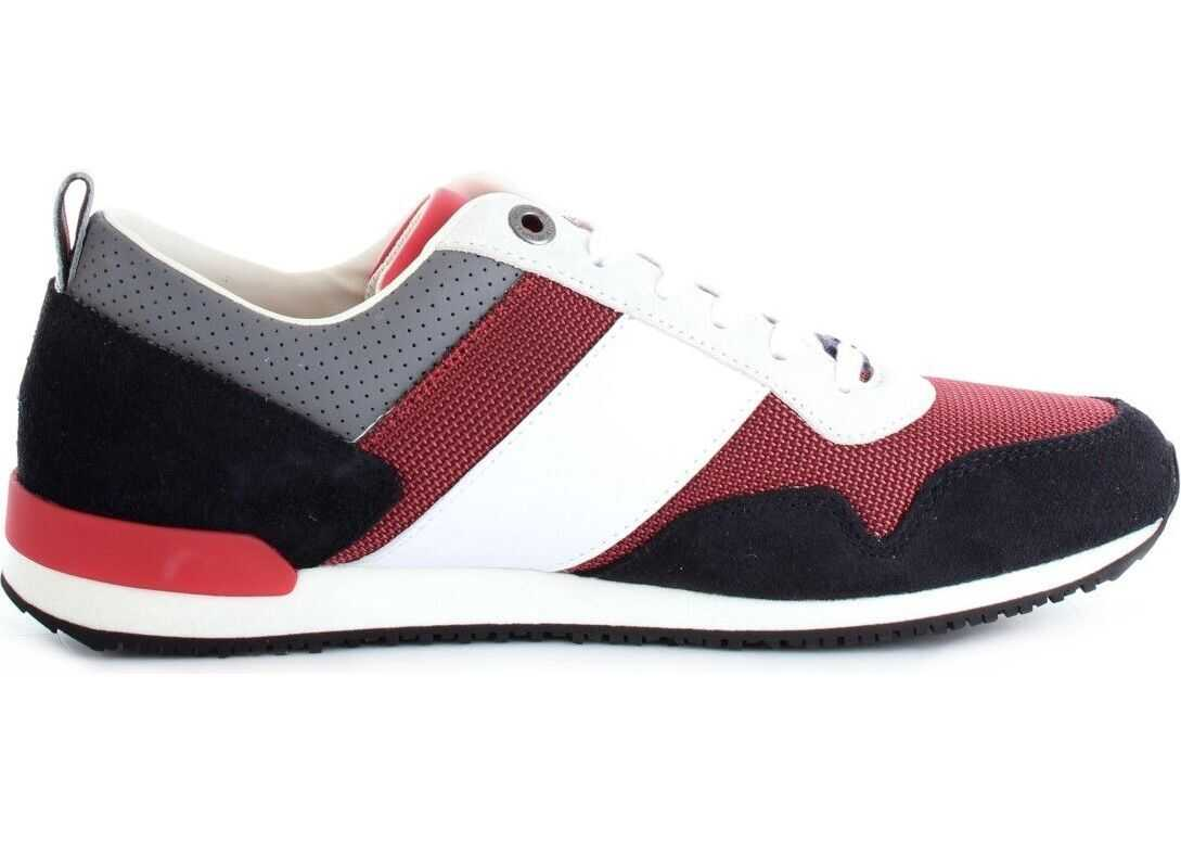 Tommy Hilfiger Leather Sneakers WHITE