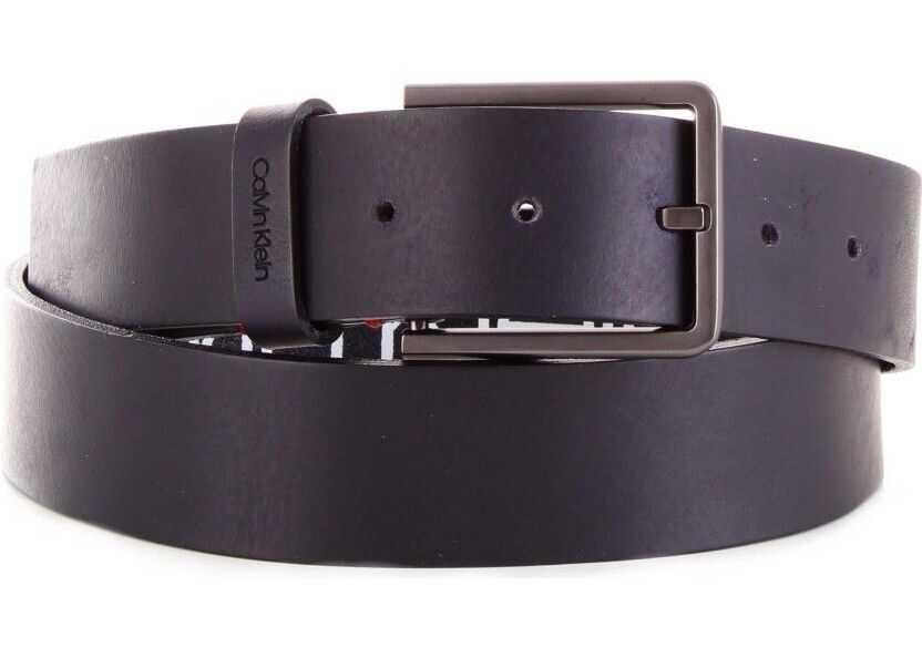 Calvin Klein Leather Belt BLUE