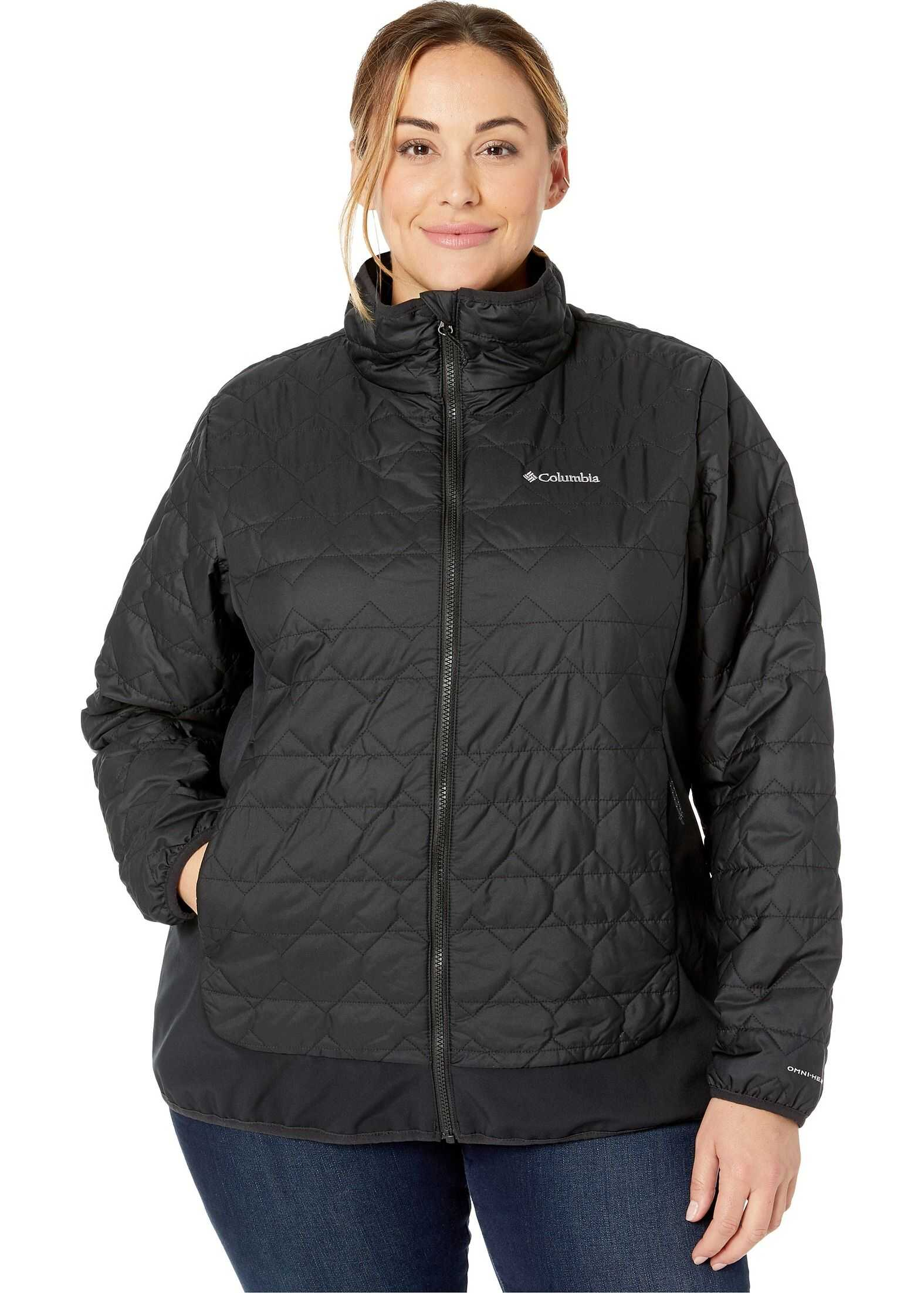 Columbia Plus Size Seneca Basin™ Hybrid Jacket Black