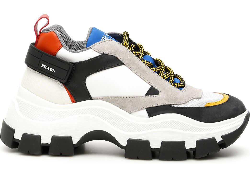 Prada Pegasus Sneakers BIANCO COBALTO