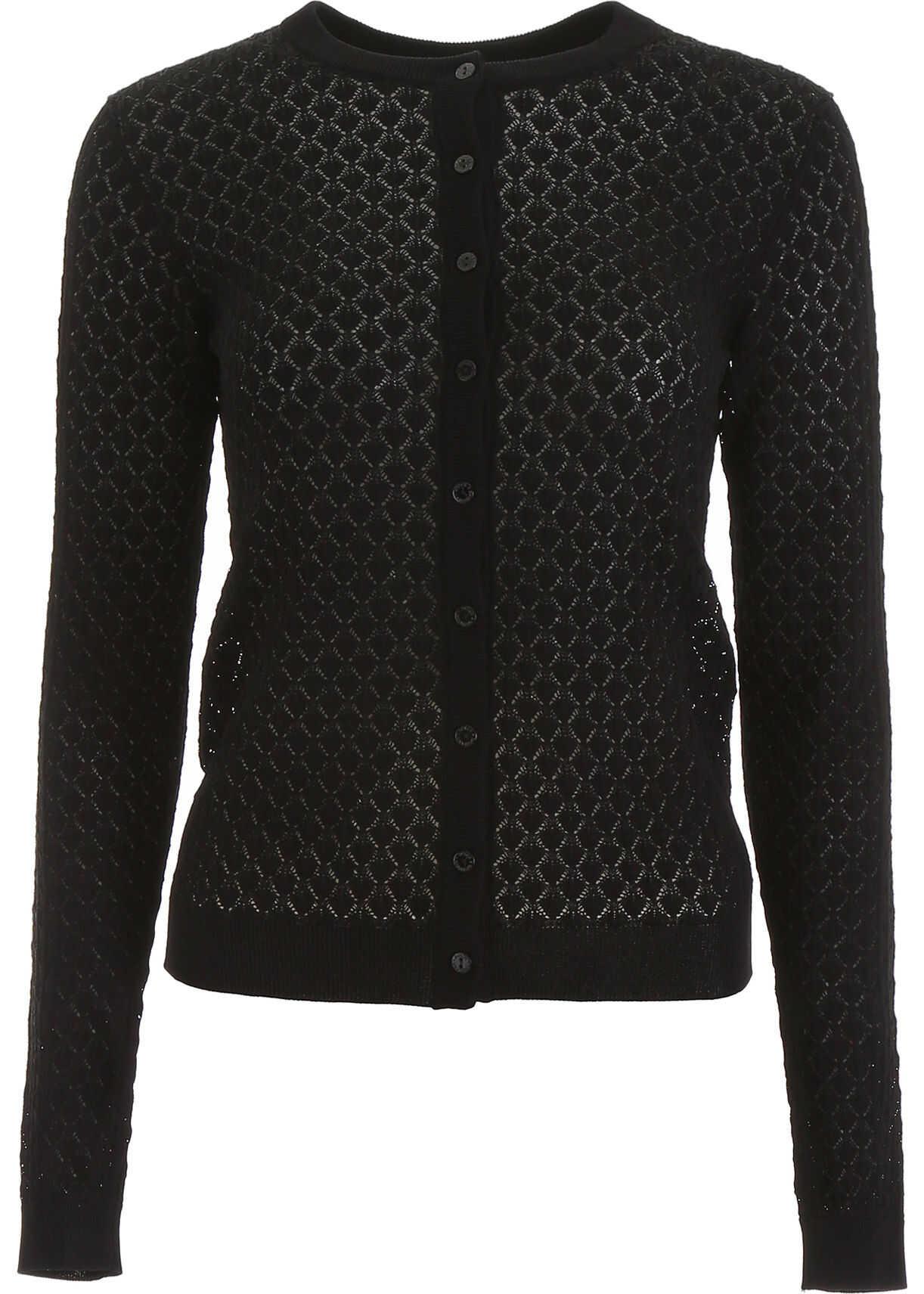 Dolce & Gabbana Knit Cardigan NERO