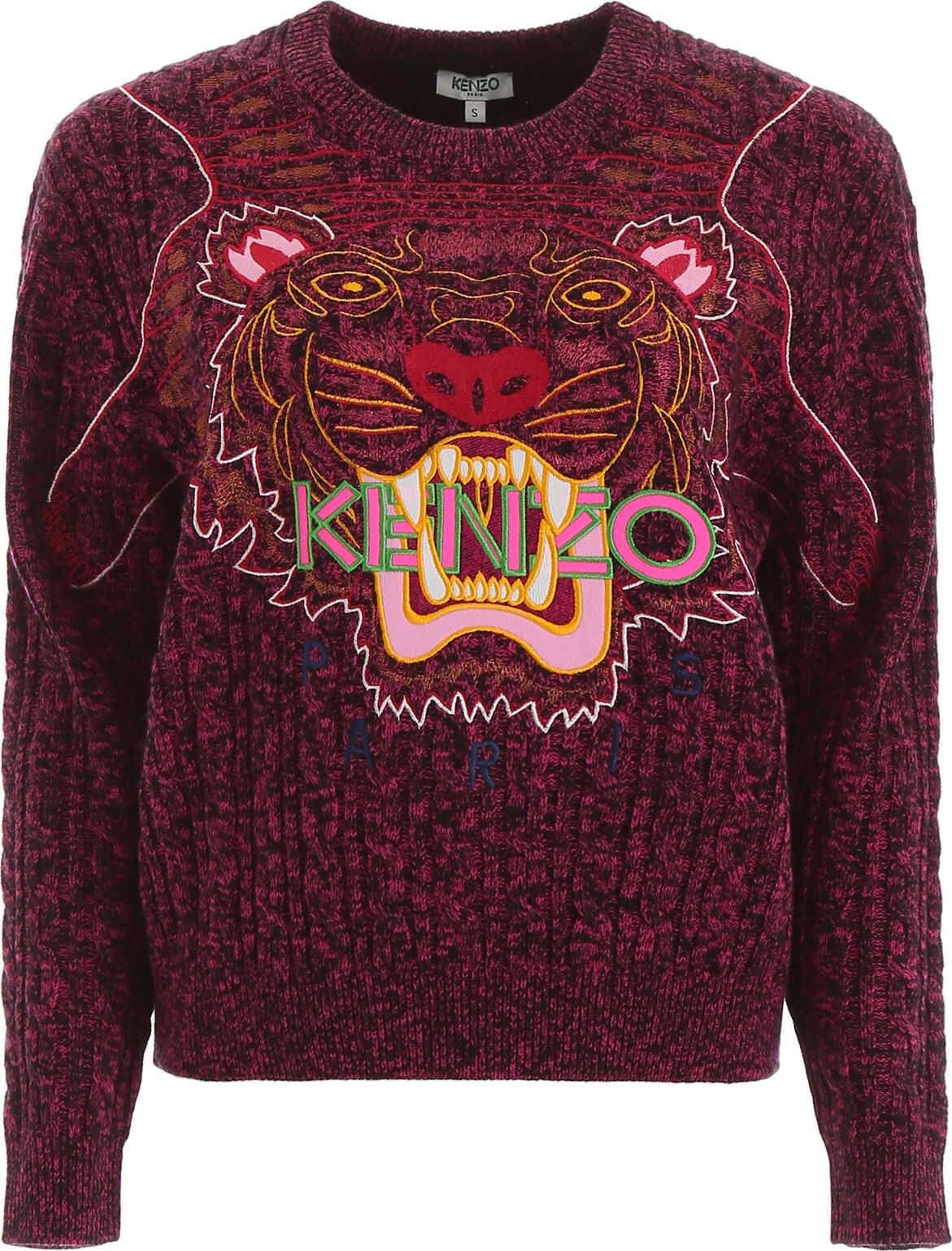 Kenzo Tiger Pullover ROSE BEGONIA