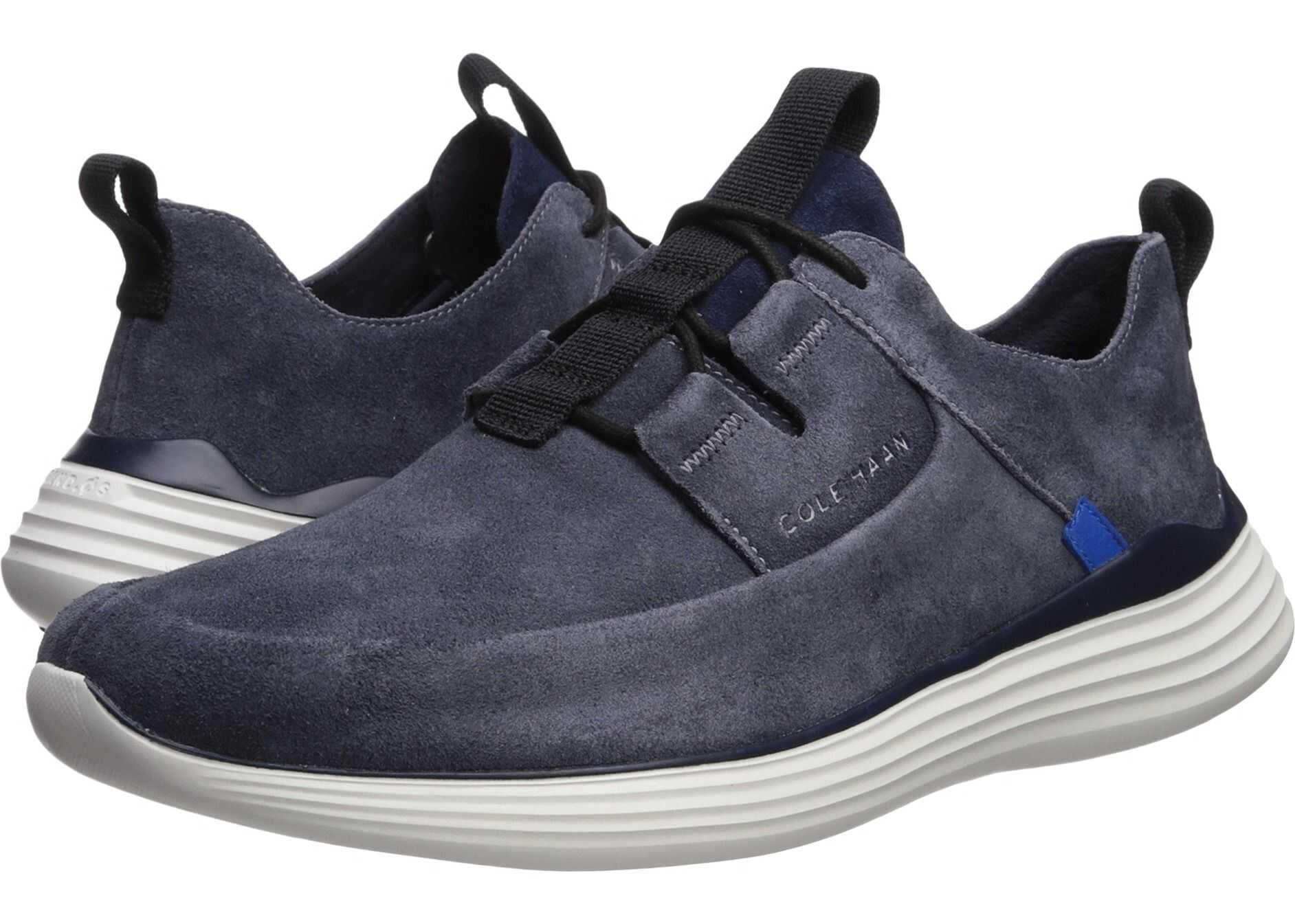Cole Haan Grandsport Apron Toe Sneaker Ombre Blue/Optic White