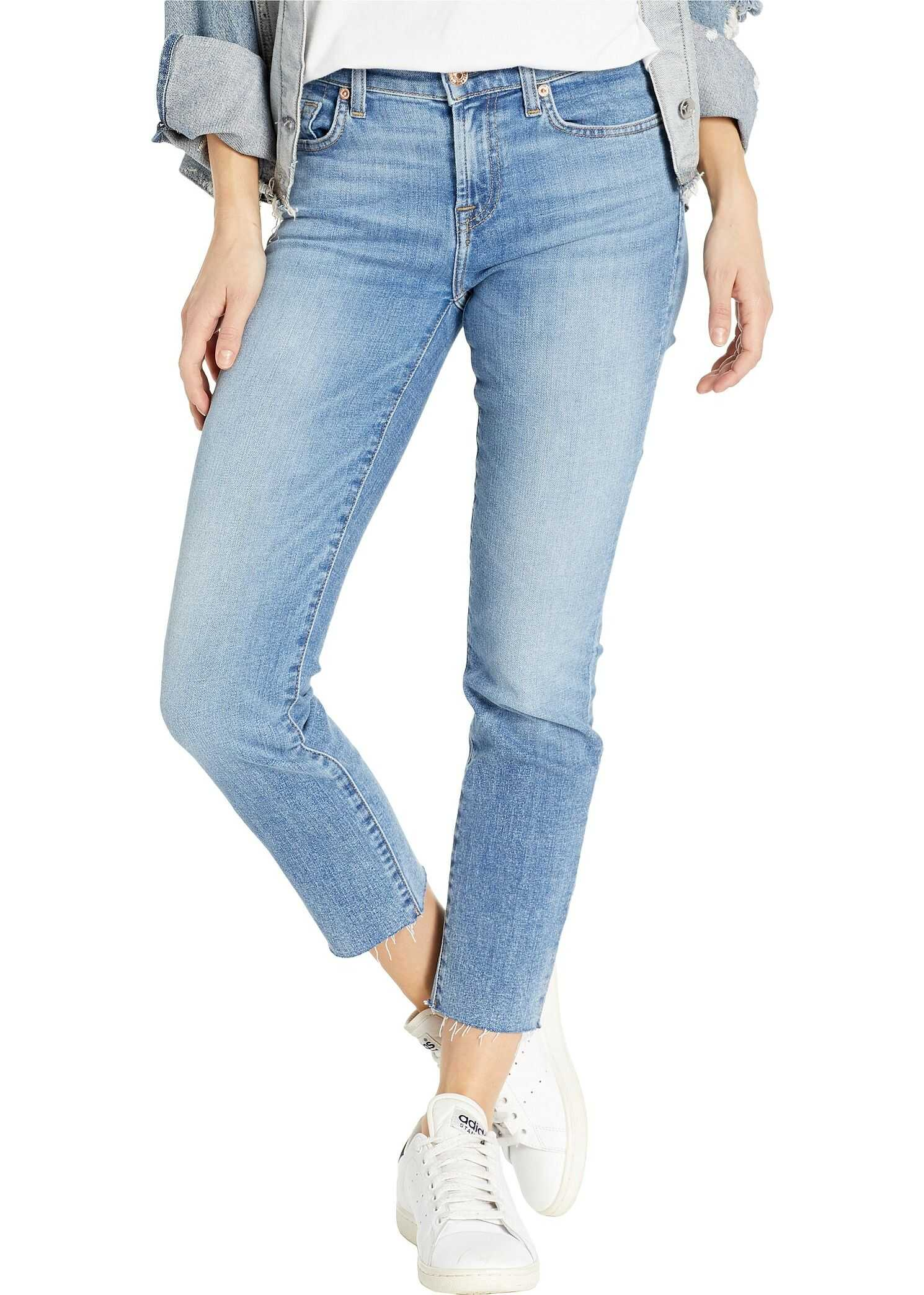 7 For All Mankind Roxanne Ankle in Light Classic Light Classic