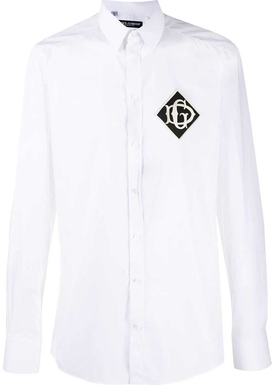 Dolce & Gabbana Cotton Shirt WHITE