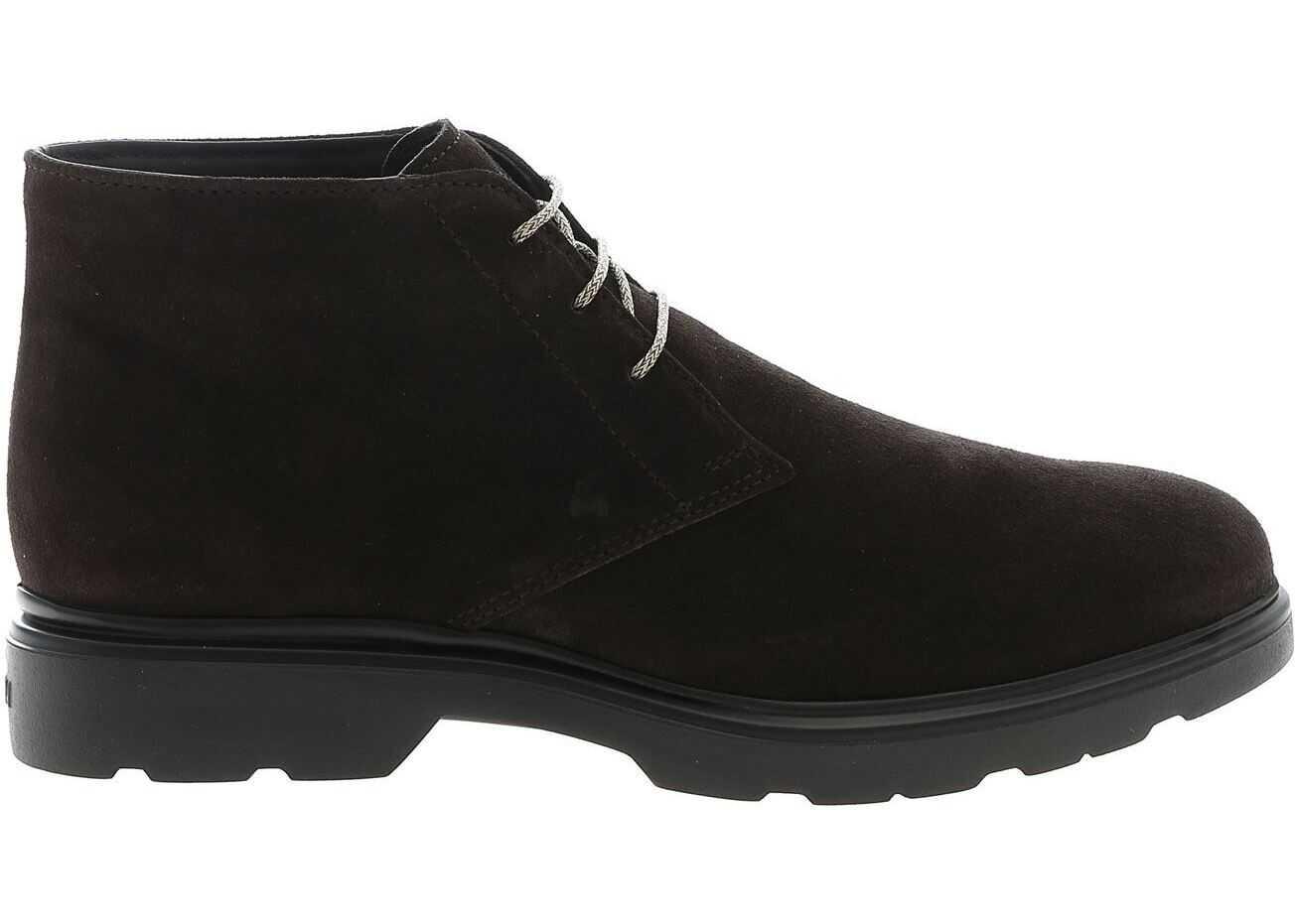 Hogan Desert H393 Shoes In Brown HXM3930W352HG0S807 Brown imagine b-mall.ro