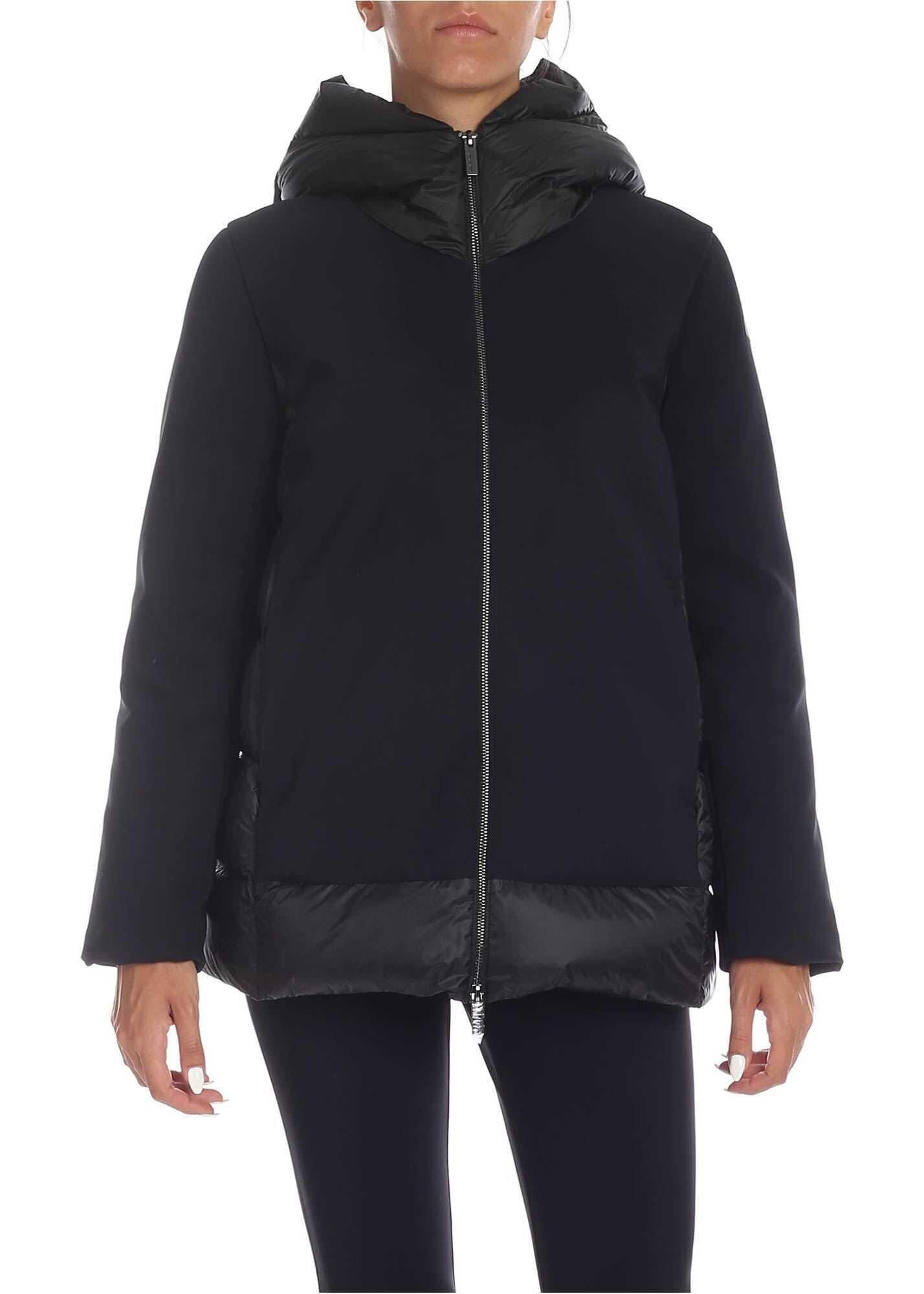 RRD Roberto Ricci Designs Winter Hybrid Zar Jacket In Black Black