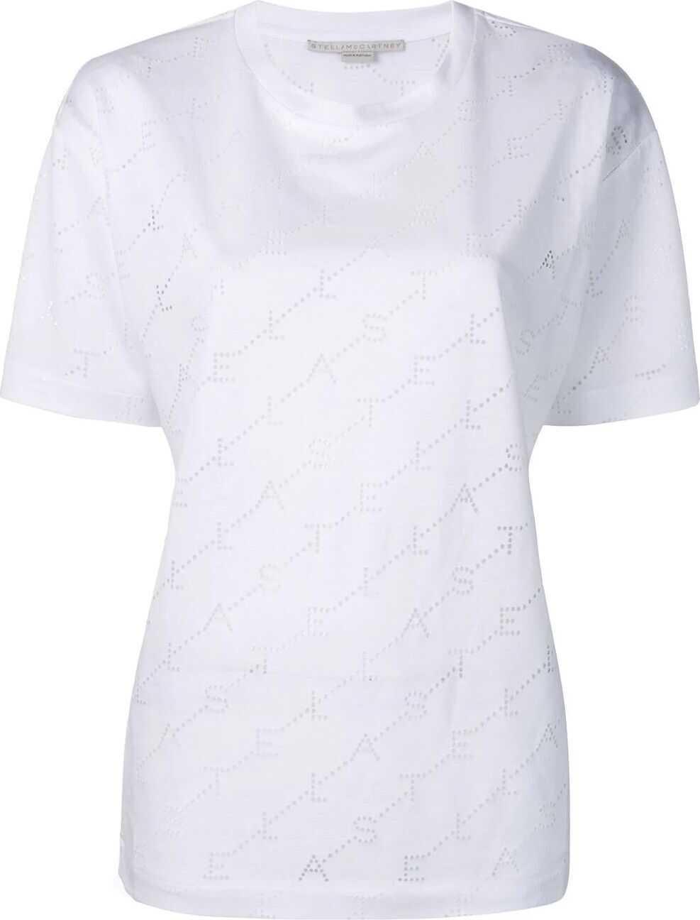 adidas by Stella McCartney Viscose T-Shirt WHITE