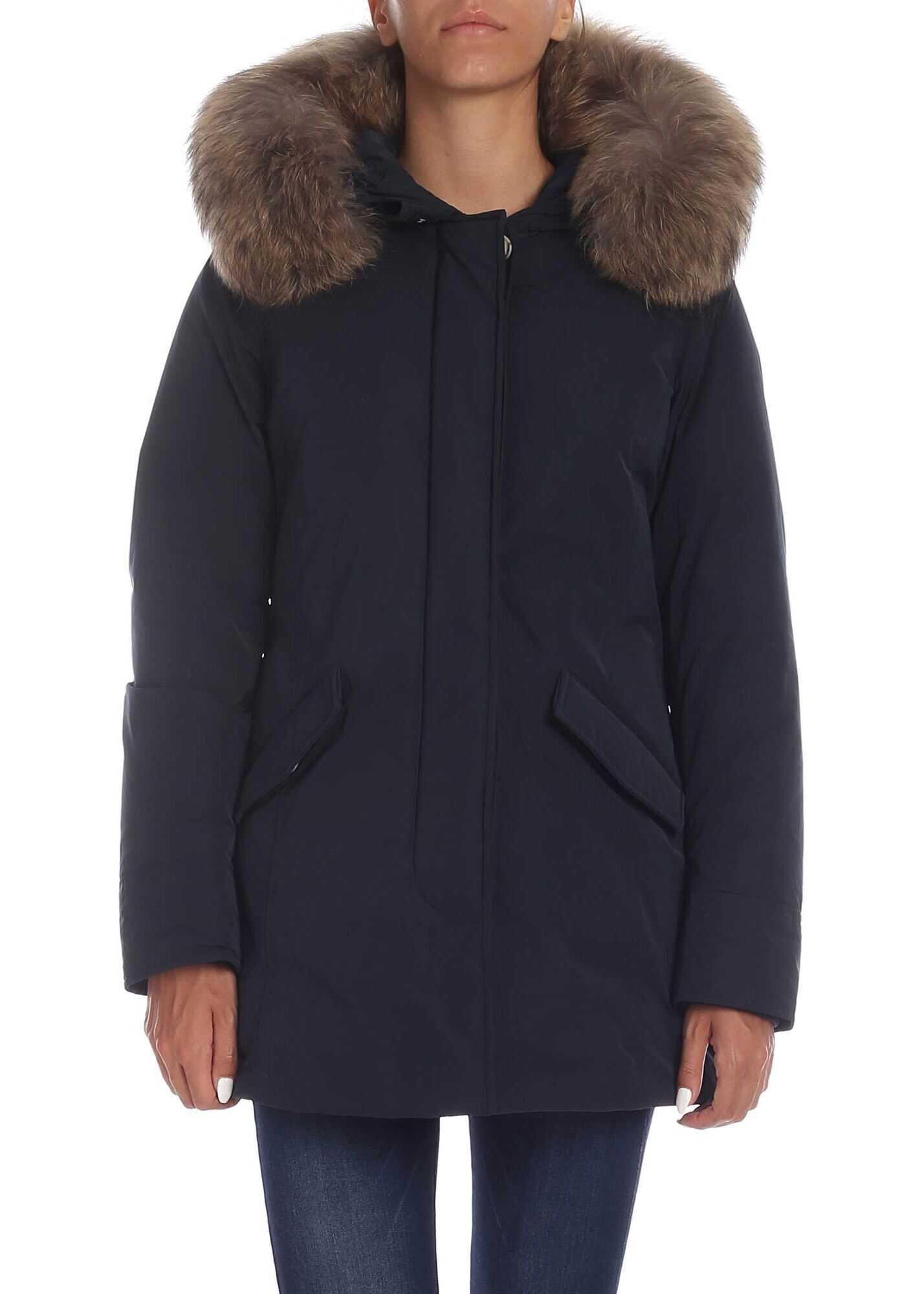 Woolrich Luxury Arctic Parka In Blue Blue