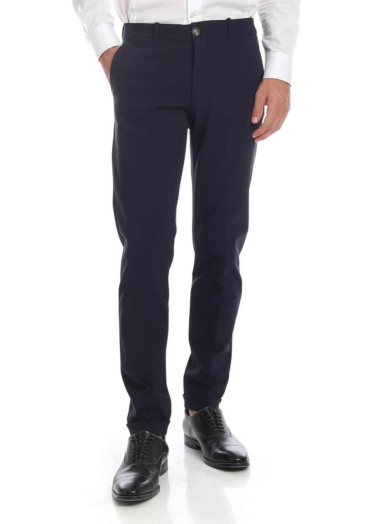 RRD Roberto Ricci Designs Winter Taz Trousers In Blue Blue imagine