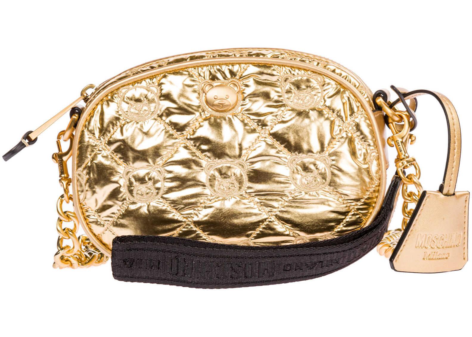 Moschino Shoulder Bag Gold