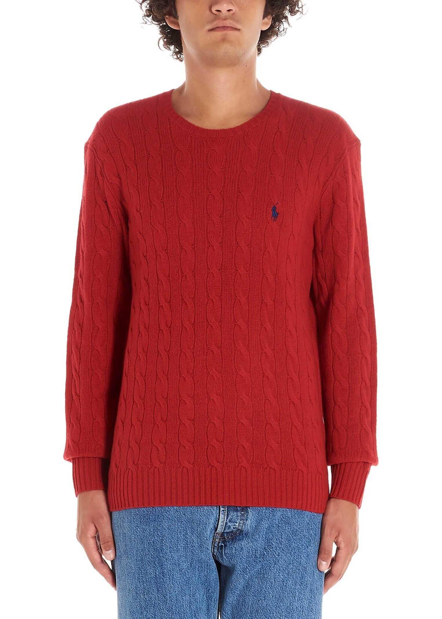 Ralph Lauren Wool Sweater RED
