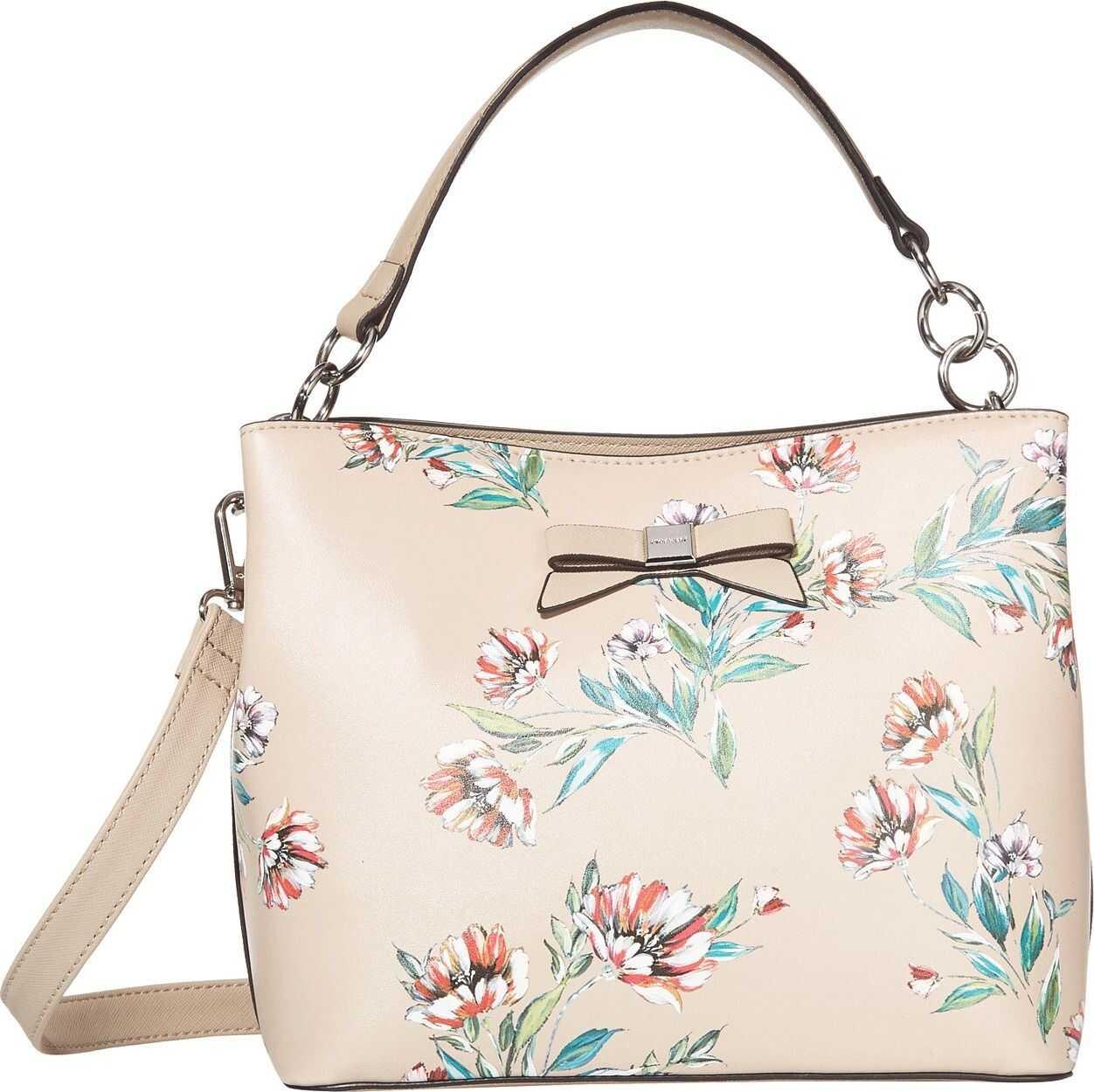 Nine West Maile Bucket Bag Fawn Multi