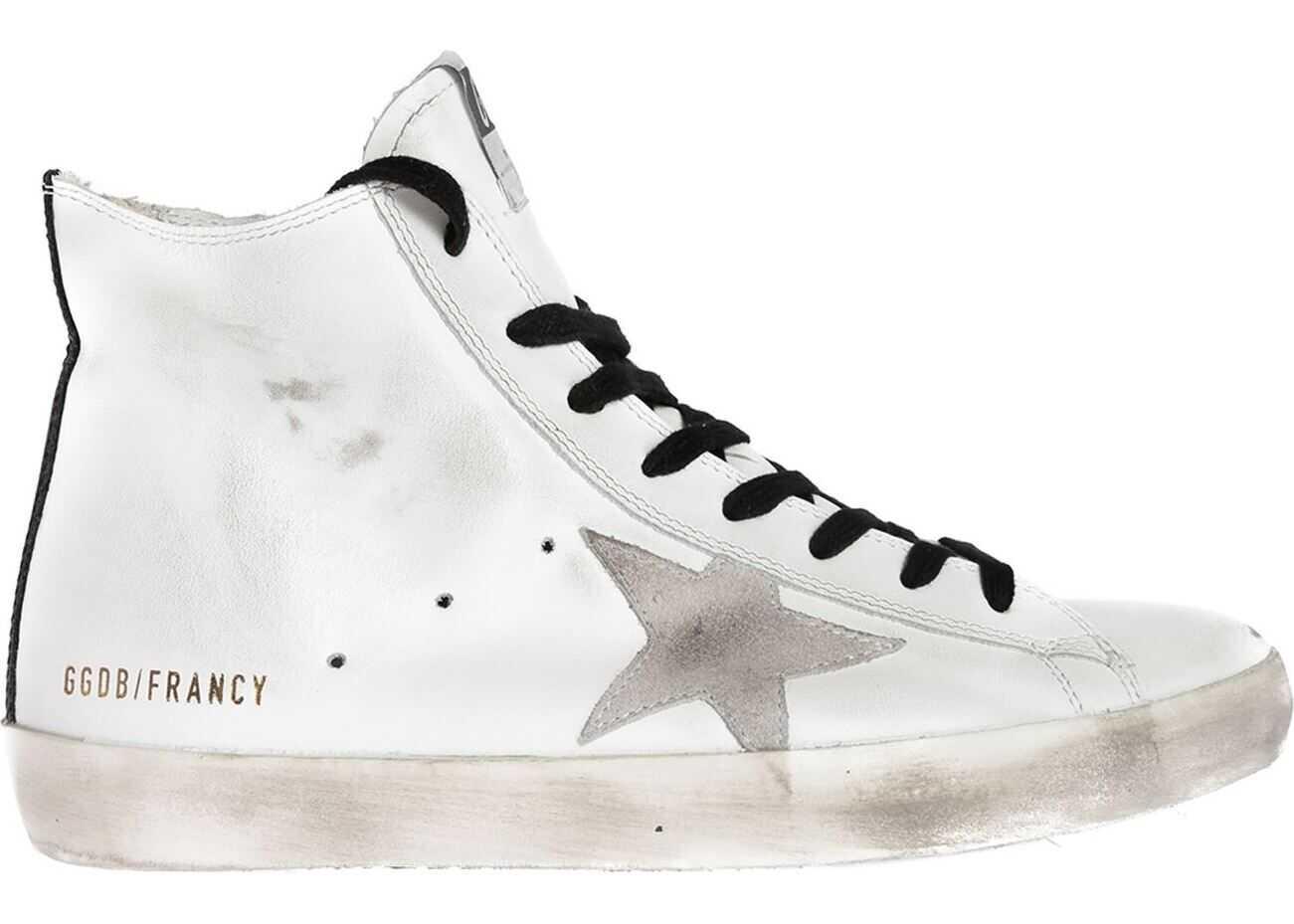 Golden Goose Francy Sneakers In White White