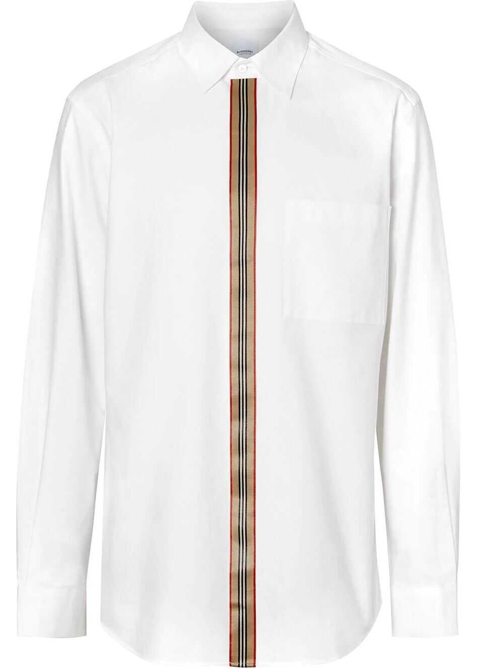 Burberry Cotton Shirt WHITE