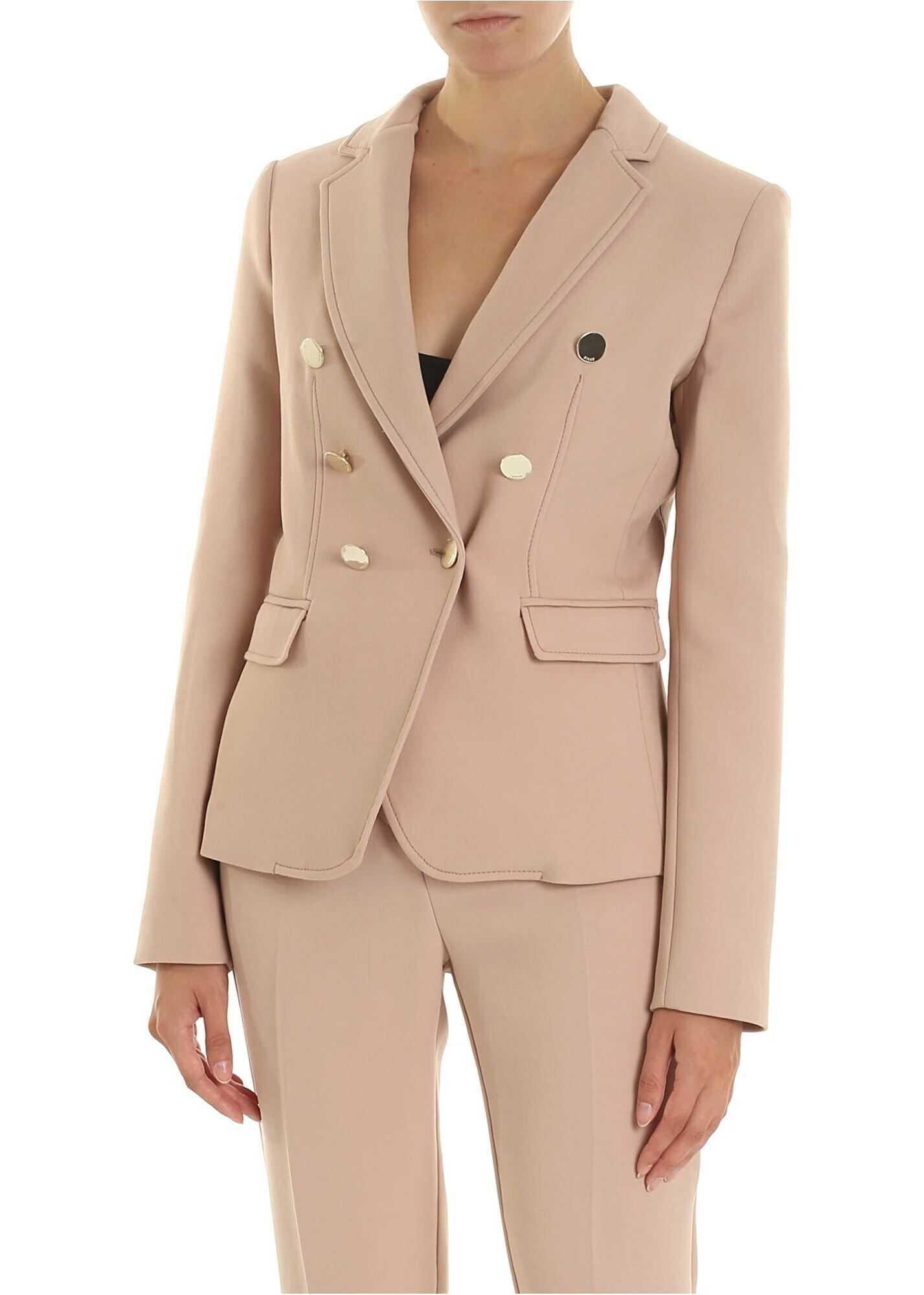 Pinko Grondaia 1 Jacket In Powder Pink Pink