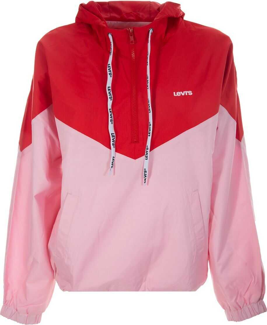 Levi's® Polyester Outerwear Jacket PINK
