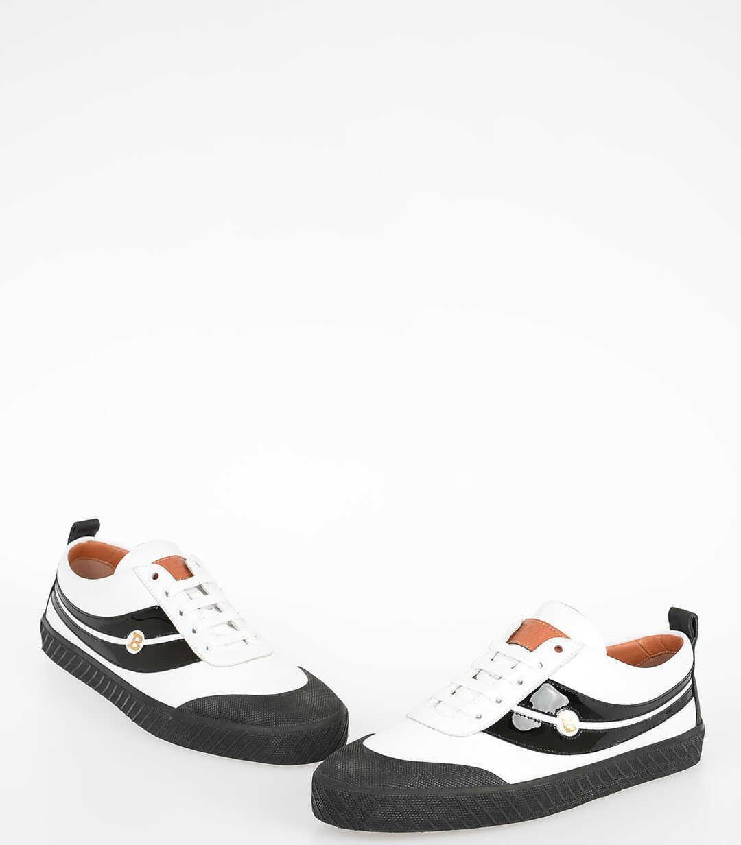 Bally Leather SMAKE Sneakers BLACK & WHITE