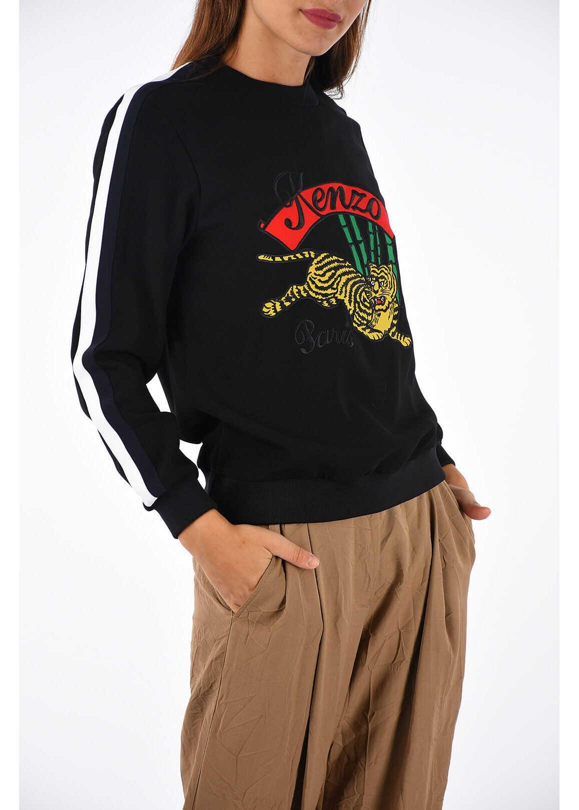 Kenzo Sweatshirt Jumpinp Tiger BLACK