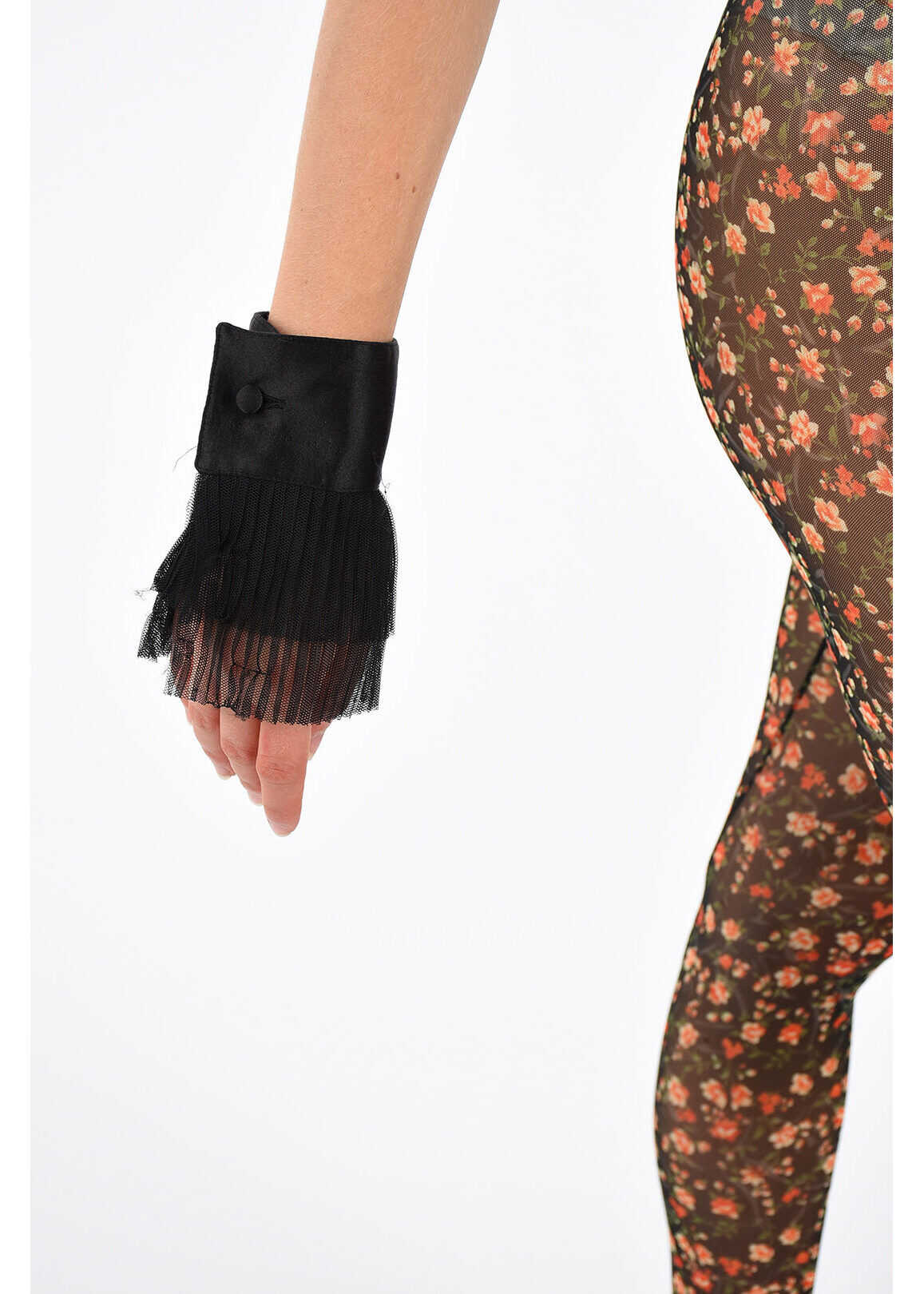 DSQUARED2 Cuff with Tulle BLACK