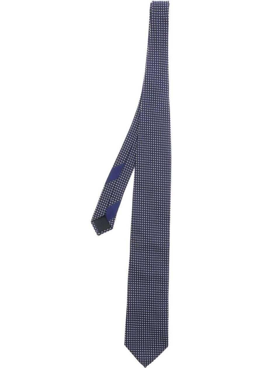 Z Zegna Silk Tie BLUE
