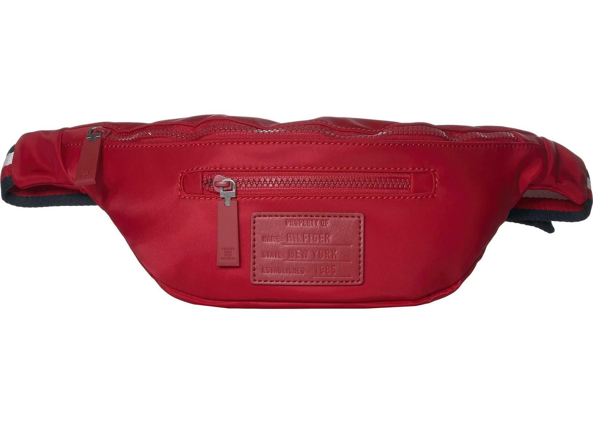 Tommy Hilfiger Patch Nylon Body Bag Tommy Red