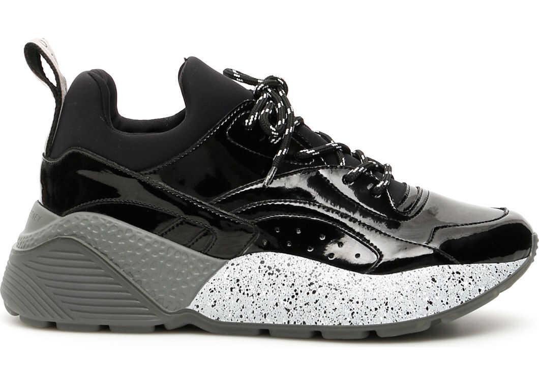 adidas by Stella McCartney Eclypse Sneakers BLACK WHITE BLACK