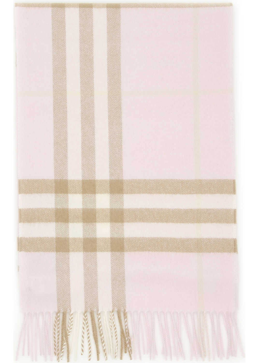 Burberry Giant Check Scarf ALABASTER