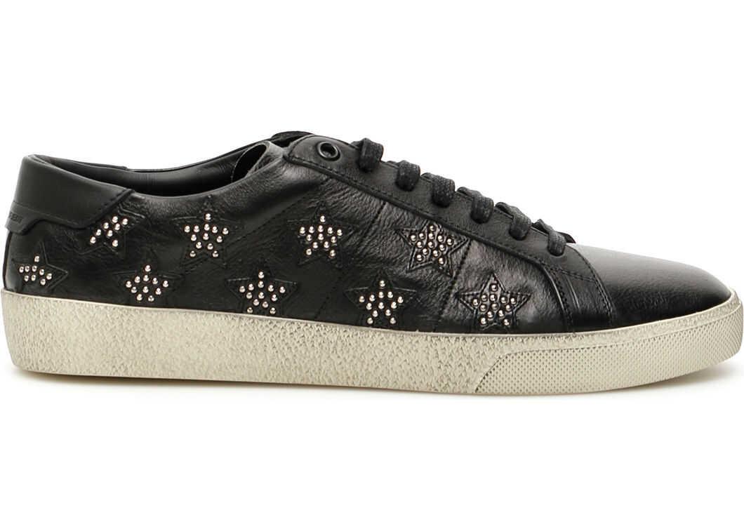 Saint Laurent Sl/06 Stars Sneakers NERO