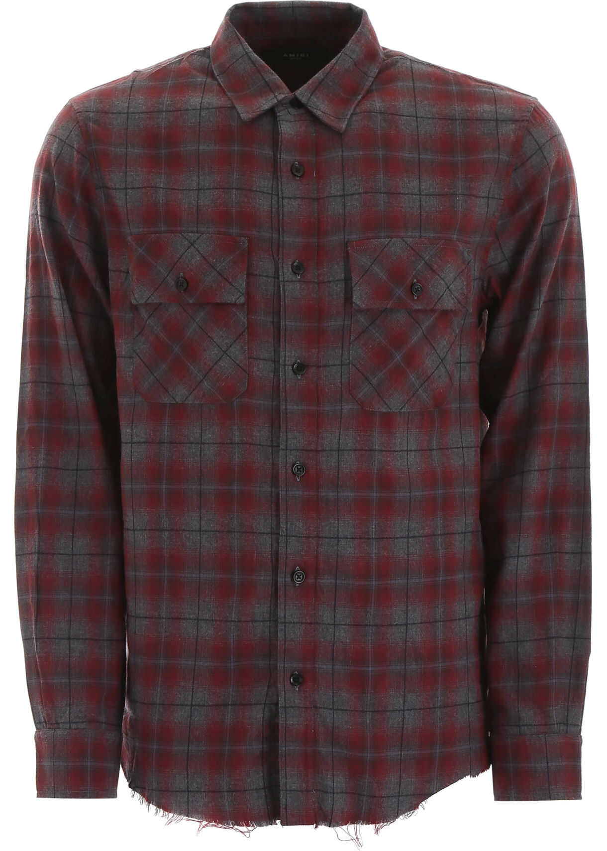Tartan Shirt With Leather Logo Patch thumbnail