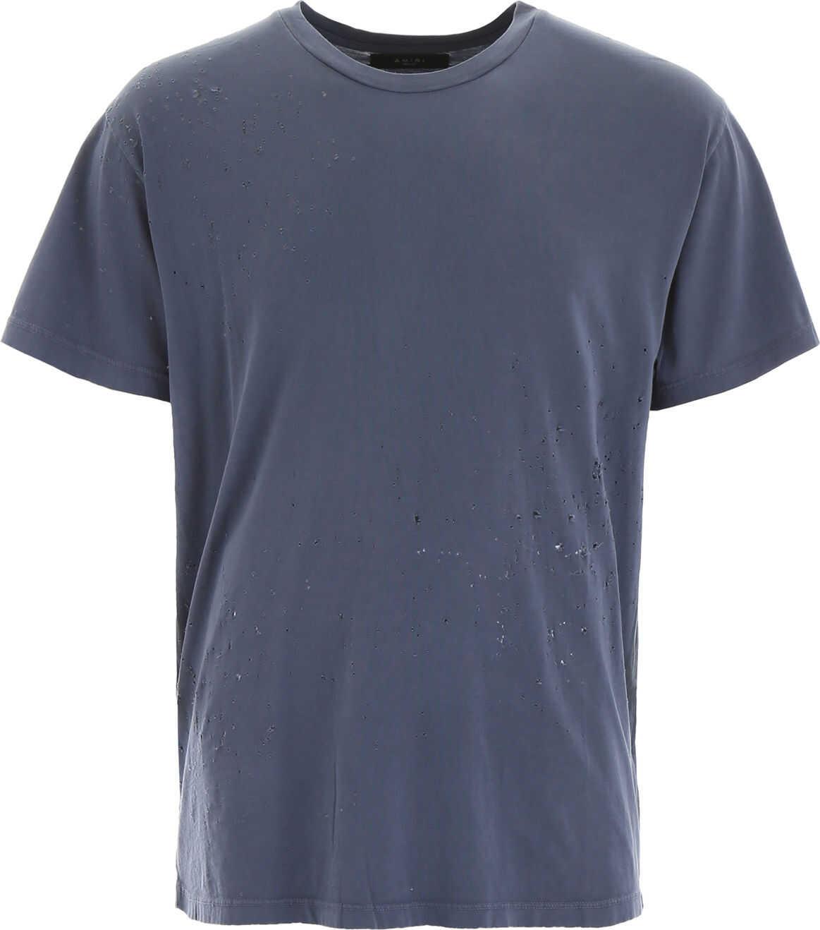 AMIRI Shotgun T-Shirt SLATE BLUE