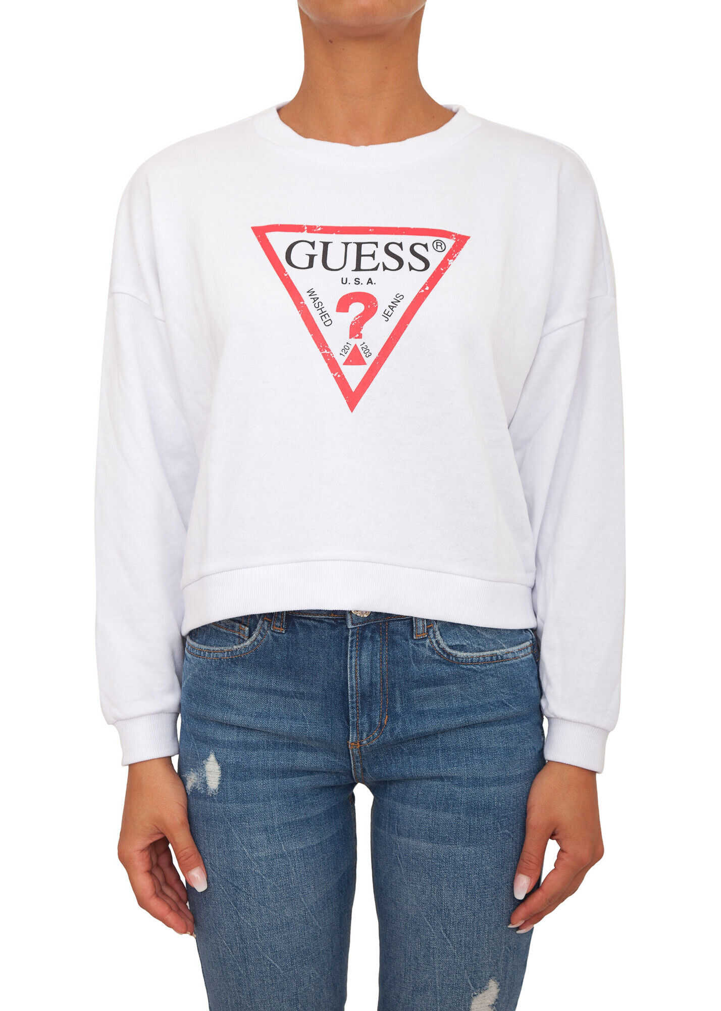 GUESS 6EF1F4C6 WHITE