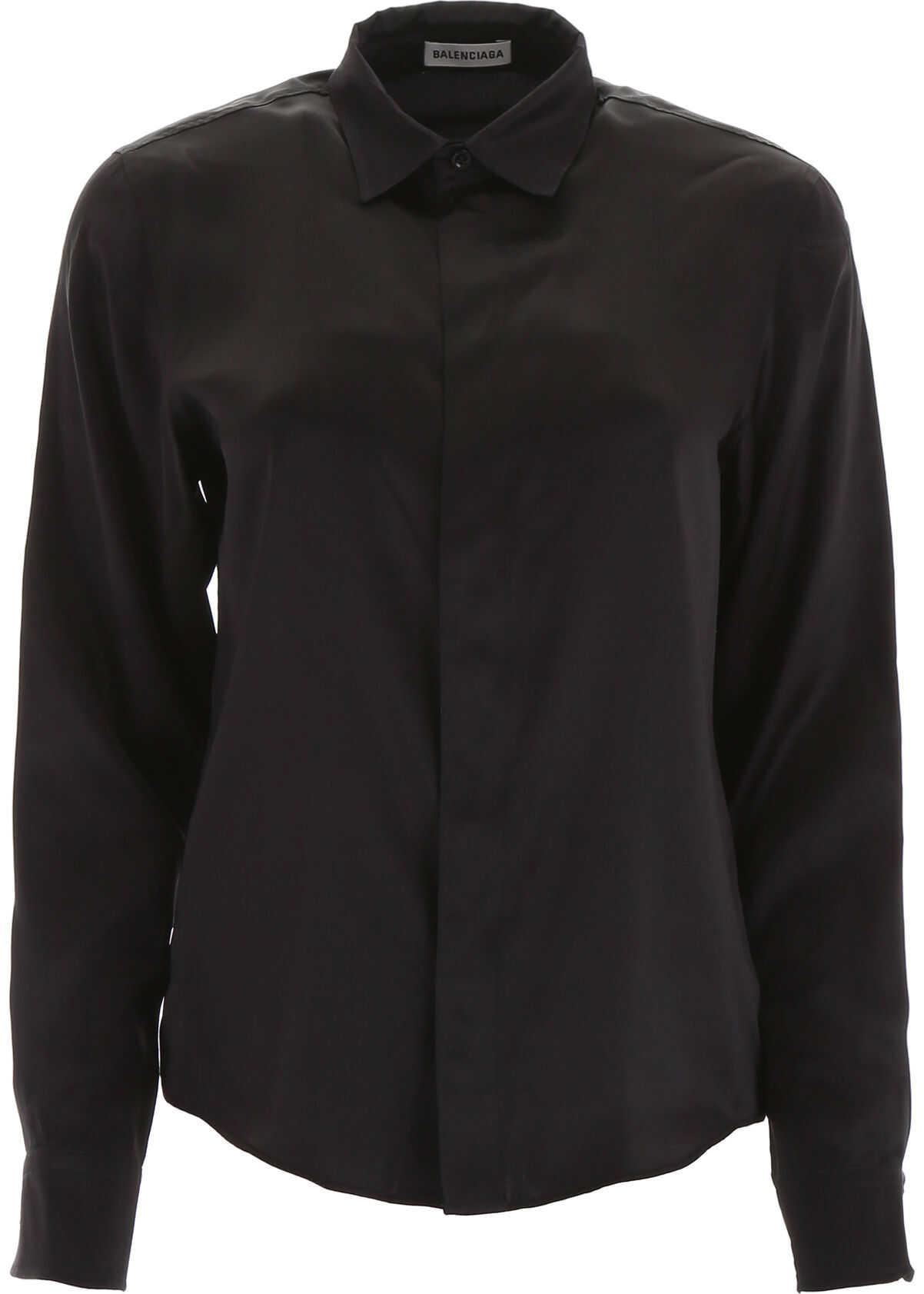Balenciaga Silk Shirt BLACK