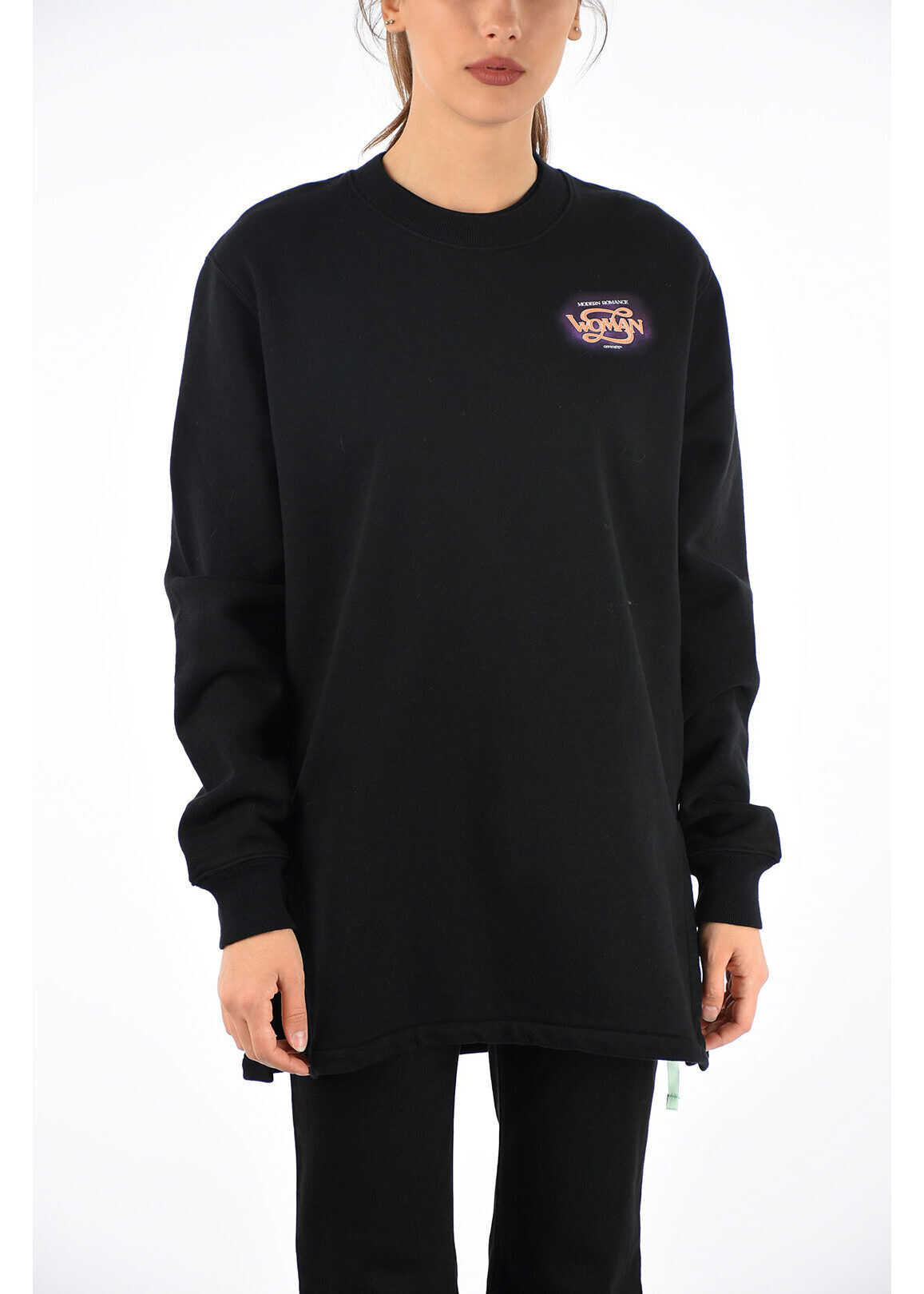 Off-White Printed Sweatshirt BLACK