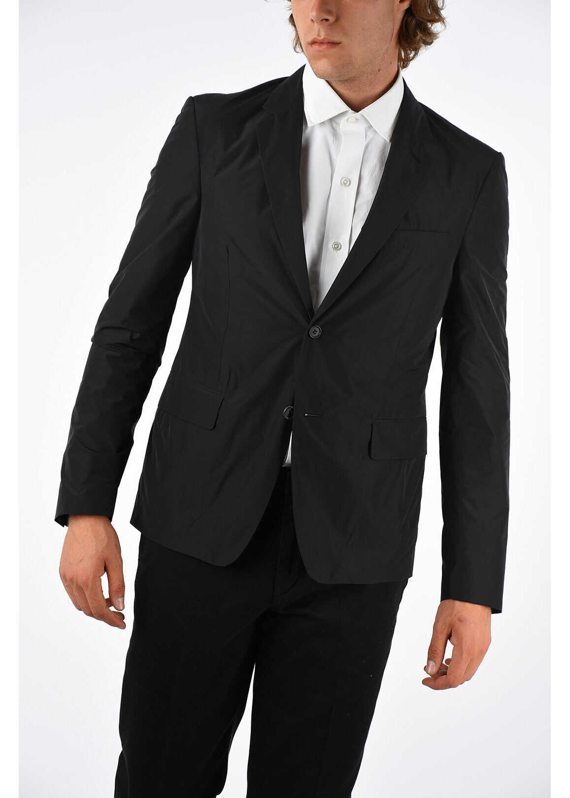 Prada Single Breasted Blazer BLACK