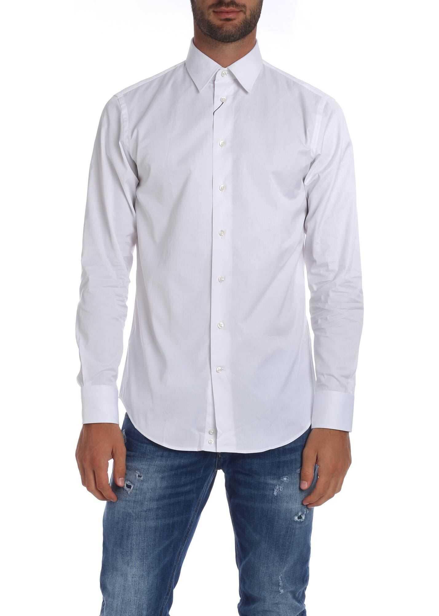 Emporio Armani White Shirt White