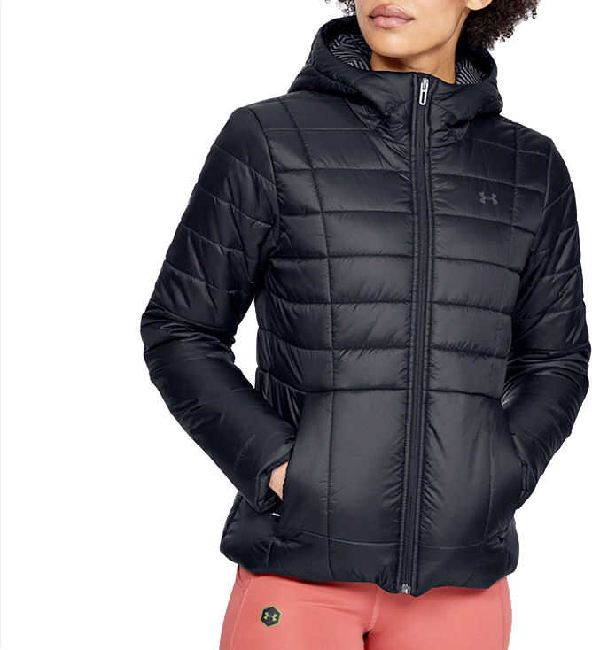 Under Armour W Insulated Hooded Jacket Black