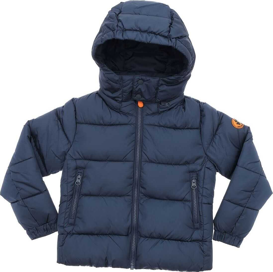 Mega Down Jacket In Dark Blue Color thumbnail