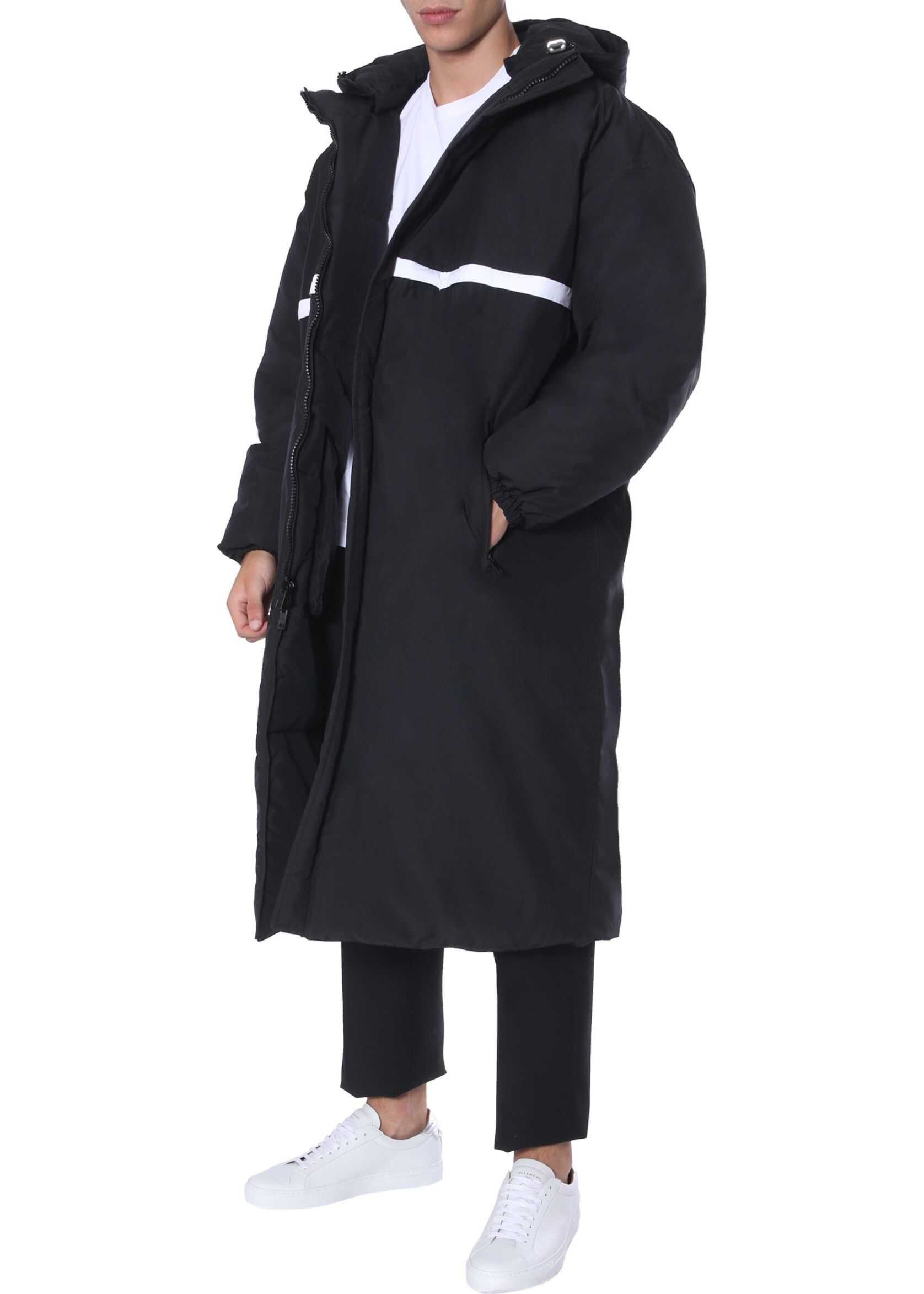 Givenchy Long Down Jacket BLACK