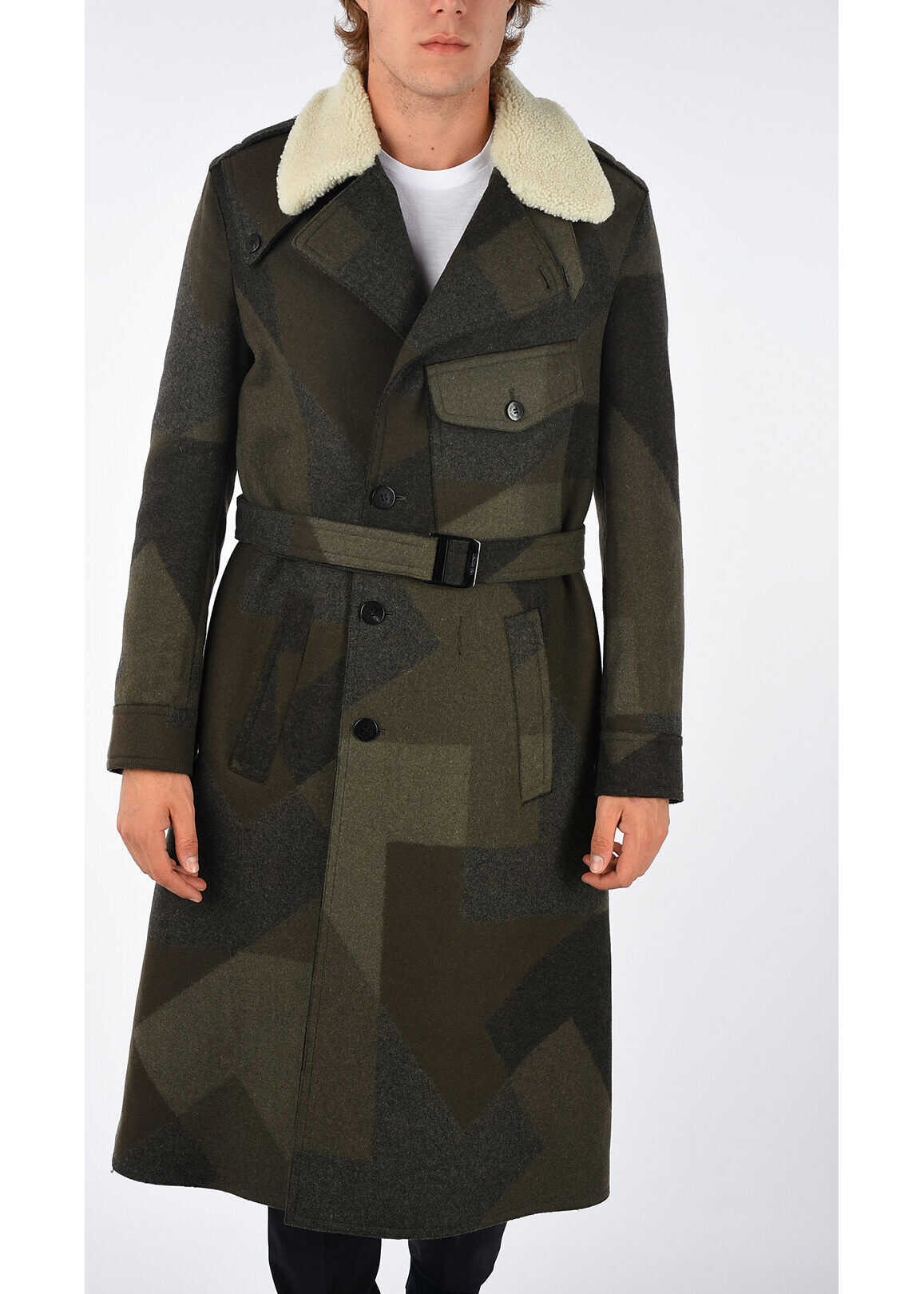 Neil Barrett Virgin Wool Blend Coat N/A