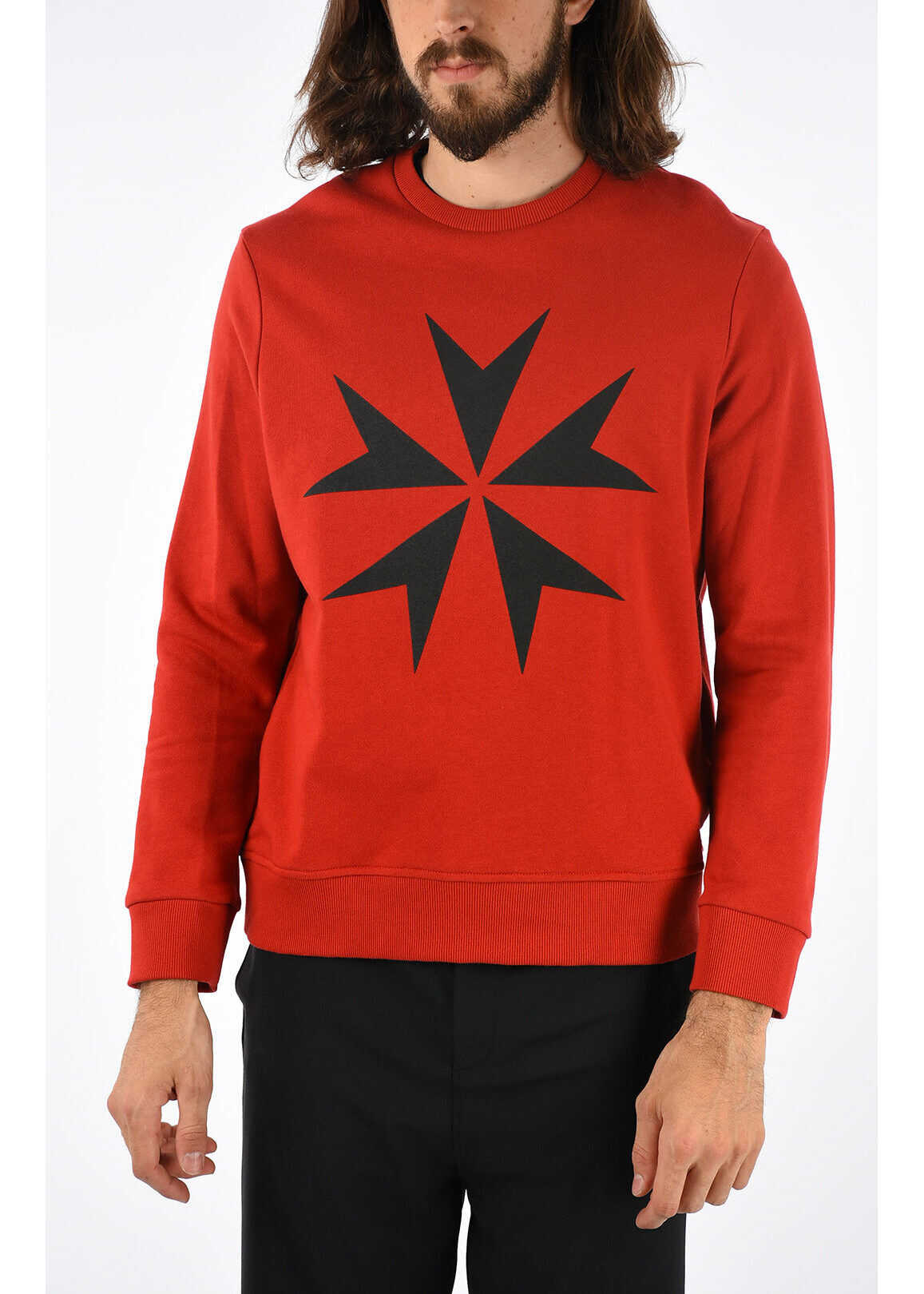 MALTESE CROSS Printed Crewneck Sweatshirt thumbnail