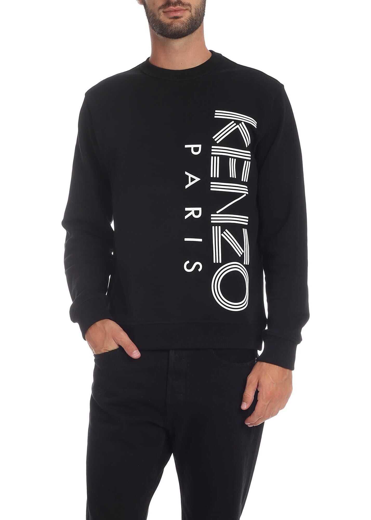 Kenzo Print Sweatshirt In Black thumbnail